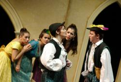 Florida International University students perform musical theatre scenes