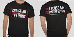Christian-in-Training T-shirt