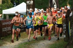 Trail runners begin Chattanooga's only trail running stage race.