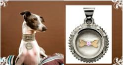 Wags and Tags custom luxury pet ID tags