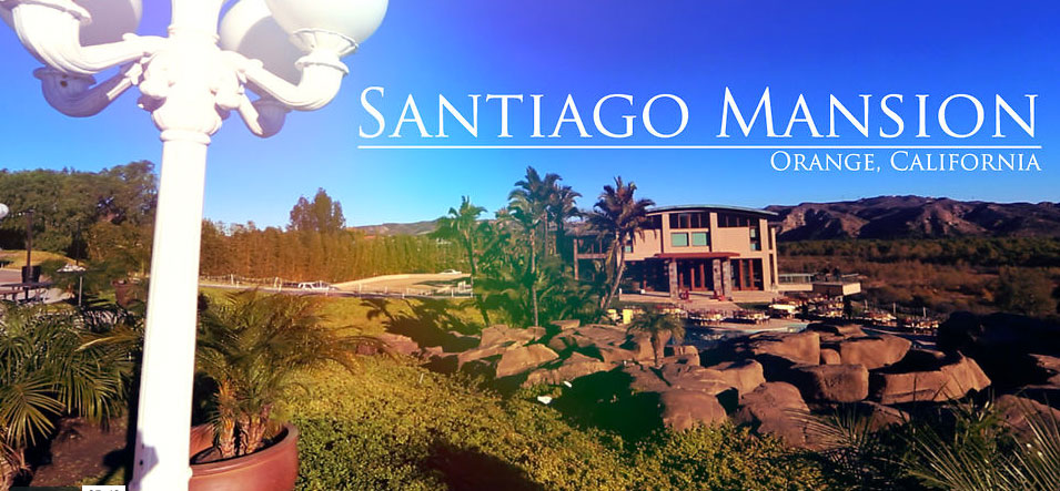 Santiago canyon mansion viral wedding film from pixel film for Mansions in orange county