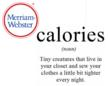Humor- Calories.