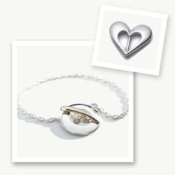 Memory Bracelet, Button Charm Bracelet, Button & Co., Celtic Promise