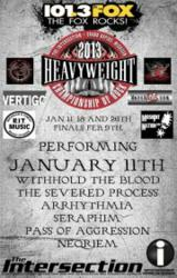 Local Heavy Metal at The Heavyweights in Grand Rapids MI - January 11 line up