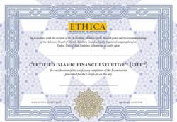 Certified Islamic Finance Executive