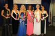 (from left to right) Joan Land (winner of the Talent Award) from Fullerton, Patricia Steward 3rd Runner up from Studio City, Gayla Kalp Jackson 1st Runner up from Moorpark, Wendy Ida Ms. Senior Culver CItu 2012 from Lakewood, Barbara Pergament 2nd Runner