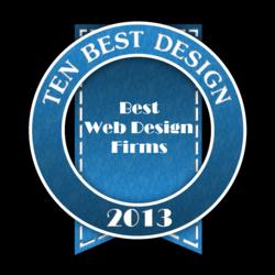 Best Web Design Firms 2013
