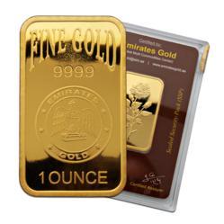 Emirates Gold 1oz Bullion bar