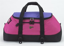 Pink Snap-On Duffle Bag