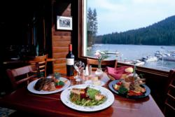 Ducey's on the Lake at Bass Lake is one of the Yosemite area restaurants taking part in the annual California Restaurant Month celebration