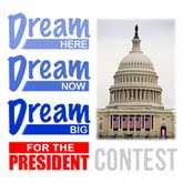 Rocket21 Dream Big for The President Contest