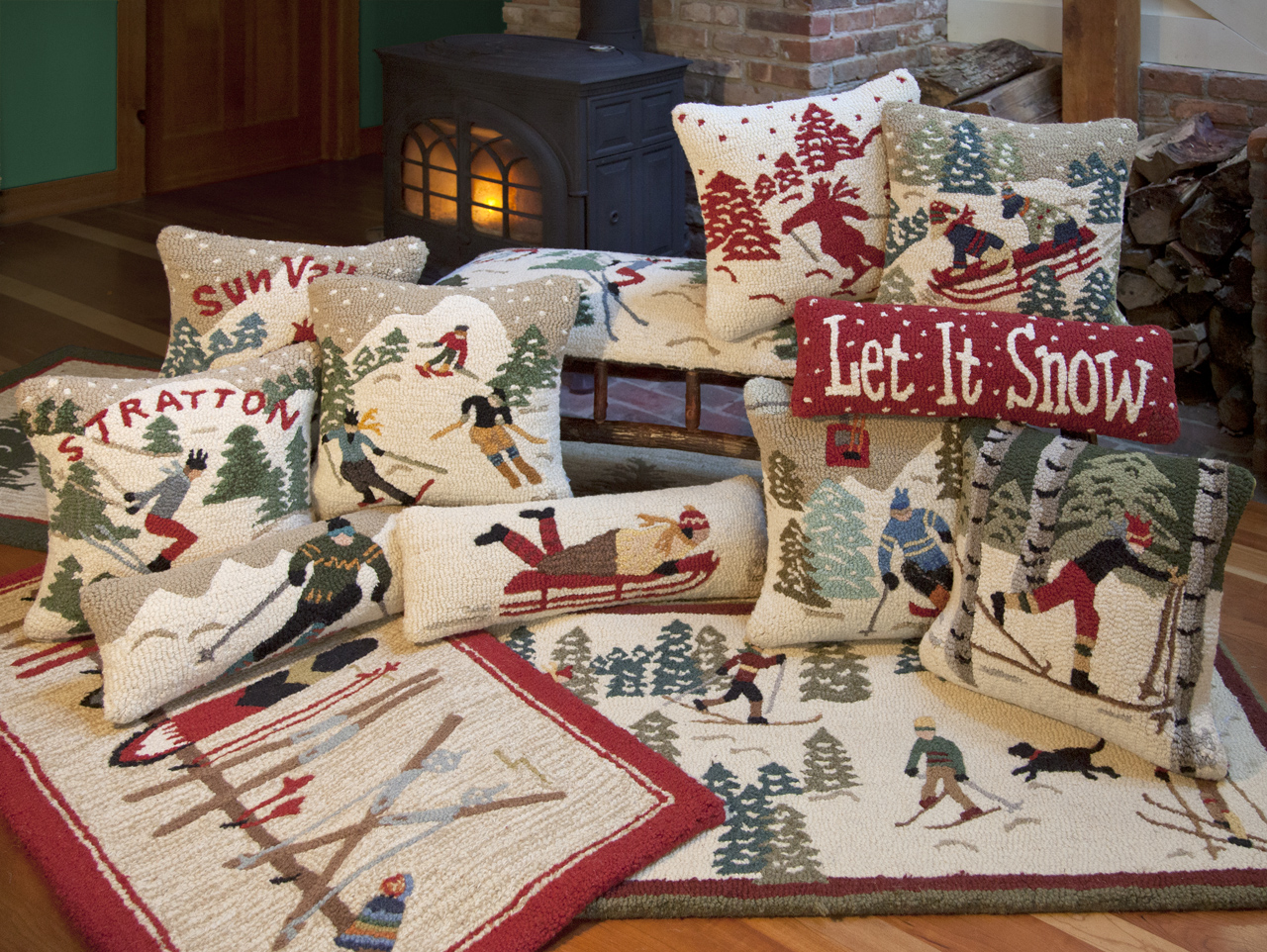 Chandler 4 corners has added new ski related designs to for Ski decorations for home