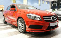Red New Mercedes A Class
