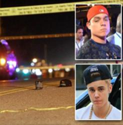 A Los Angeles paparazzo was killed while trying to photograph Justin Bieber's white Ferrari