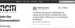 NCM Associates launches #NCMTips as an auto dealer best practices feed on Twitter