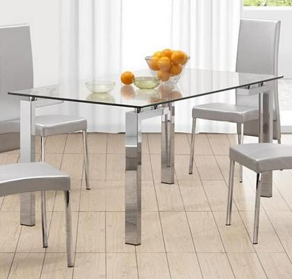 Sheet Metal Dining Table Glass Sheet Dining Table