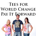 PIF Apparel T-shirts, T-shirts with positive messages from Pay It Forward Apparel
