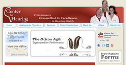 hearing aids in Fort Smith AR - Center for Hearing Ltd private practice