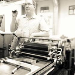 Letterpress and Vandercook Cylinder Press Expert at SFCB