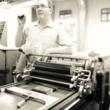 Letterpress and Vandercook Cylinder Press Expert Paul Moxon at San Francisco Center for the Book