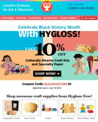 Get 10% Off Multicultural Craft Kits from HyglossProducts