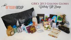 The Artisan Group Celebrity Gift Bag for the 2013 Golden Globes