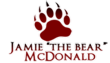 "Jamie ""The Bear"" McDonald Logo"