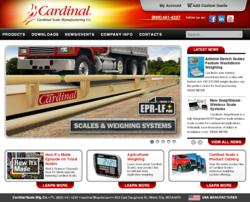 New CardinalScale.com Web Site Launched for Cardinal Scale Manufacturing Co.