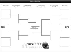 Newly launched printablebrackets offers complimentary nfl nfl playoff bracket maxwellsz