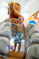 The new water slide at the Coeur d'Alene Kroc Center keeps families coming back for more.
