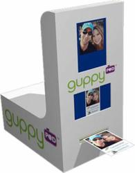 guppyPOD™ photo booth kiosk from Catch the Moment for Experiential Event Photo Activation Marketing