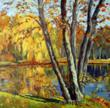 """Autumn Afternoon"" by Ingrid Dohm came in sixth on Artist Become's 2012 Top 10 list."