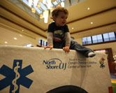 Cohen Children's Medical Center of New York sponsored a mall play area to build brand awareness and to conduct wellness education