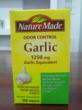 Everyday Vitamin Adds Nature Made's Odor Control Garlic Dietary...
