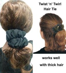 Twist 'n' Twork Hair Tie Perfect for Thick Hair