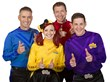 "Sure to make Wiggles' fans shimmie and shake, the new Wicked Cool Wiggles toys are based on the beloved children's property, and feature the new cast and music from their 2013 ""Taking Off!"" CD"