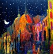 """Night"" by Justyna Kopania was named Artist Become's most popular contemporary art piece in 2012."