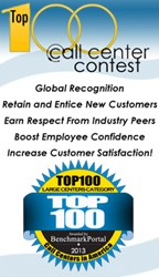 Top 100 Call Centers Contest