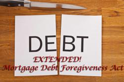 Mortgage Debt Forgiveness Act Extended