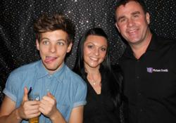 Louis with Kim and Nigel from Picture Booth
