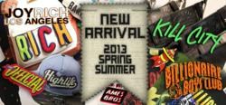 New Arrivals at Spurbe including Kill City, Billionaire boys Club, Joy Rich, and Ames Bros