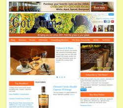 Got Rum Website