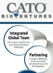 Cato BioVentures - Integrated Global Team and Partnering