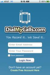 DialMyCalls iPhone App