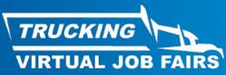 Trucking Virtual Job Fairs Logo
