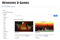 Windows 8 Games community screenshot