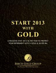 Start 2013 with Gold
