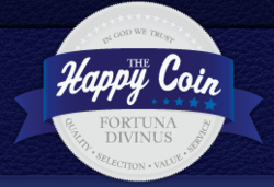 The Happy Coin, online coin dealer