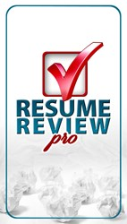 Resume Review Pro App offers a Personal Resume Review