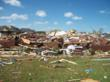 Jennifer Adair's house, shown on April 28, 2011, where she survived a direct hit from an EF5 tornado